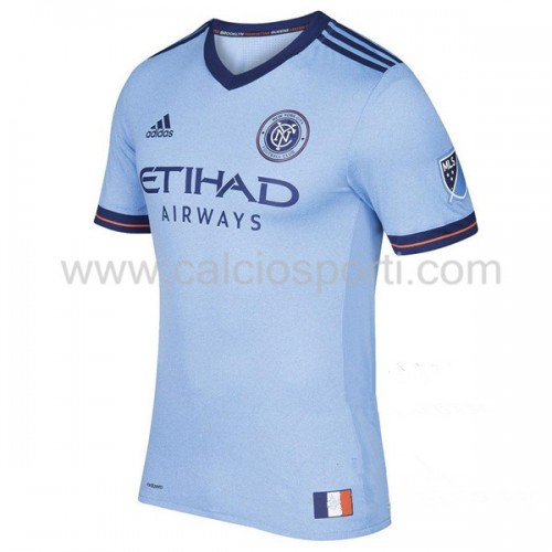 New York City 2018-19 Short Sleeve Home Soccer Jersey