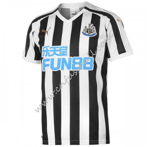 Newcastle United 2018-19 Short Sleeve Home Soccer Jersey