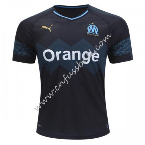 Olympique De Marseille 2018-19 Short Sleeve Away Soccer Jersey