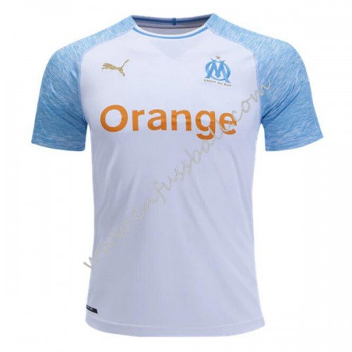 Olympique De Marseille 2018-19 Short Sleeve Home Soccer Jersey