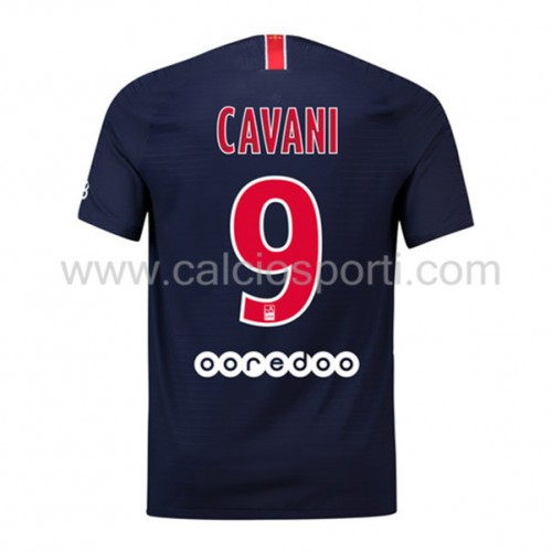 Paris Saint Germain Psg 2018-19 Edinson Cavani 9 Short Sleeve Home Soccer Jersey