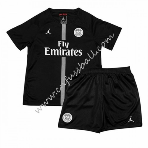 Paris Saint Germain PSG Kids 2018-19 Short Sleeve Third Soccer Jersey