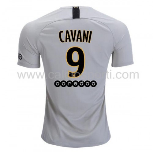 Paris Saint Germain Psg 2018-19 Edinson Cavani 9 Short Sleeve Away Soccer Jersey
