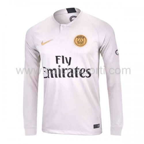 Paris Saint Germain Psg 2018-19 Long Sleeve Away Soccer Jersey