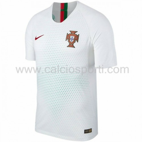 Portugal 2018 Short Sleeve Away Soccer Jersey