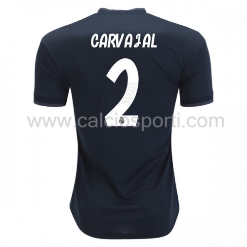 Real Madrid 2018-19 Dani Carvajal 2 Short Sleeve Away Soccer Jersey