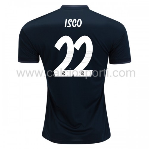 Real Madrid 2018-19 Isco Suarez 22 Short Sleeve Away Soccer Jersey