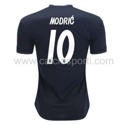 Real Madrid 2018-19 Modric 10 Short Sleeve Away Soccer Jersey