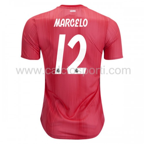 Real Madrid 2018-19 Marcelo Junior 12 Short Sleeve Third Soccer Jersey