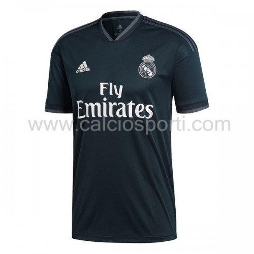 Real Madrid 2018-19 Short Sleeve Away Soccer Jersey