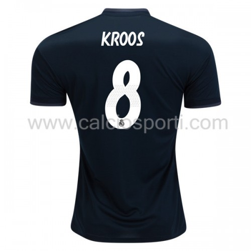 Real Madrid 2018-19 Toni Kroos 8 Short Sleeve Away Soccer Jersey