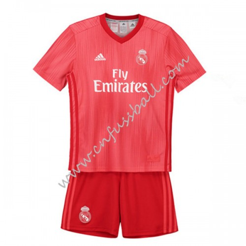 Real Madrid Kids 2018-19 Short Sleeve Third Soccer Jersey