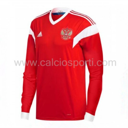 Russia 2018 Long Sleeve Home Soccer Jersey