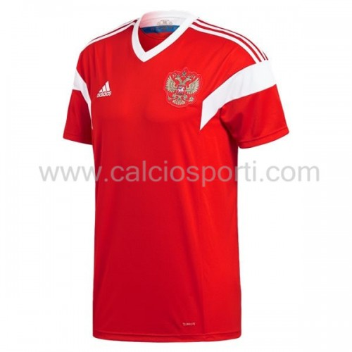 Russia 2018 Short Sleeve Home Soccer Jersey