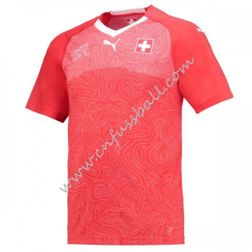 Switzerland 2018 Short Sleeve Home Soccer Jersey