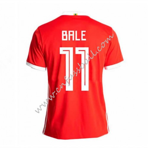 Wales 2018 Gareth Bale 11 Short Sleeve Home Soccer Jersey