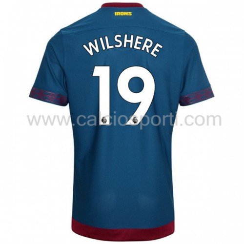 West Ham United 2018-19 Jack Wilshere 19 Short Sleeve Away Soccer Jersey
