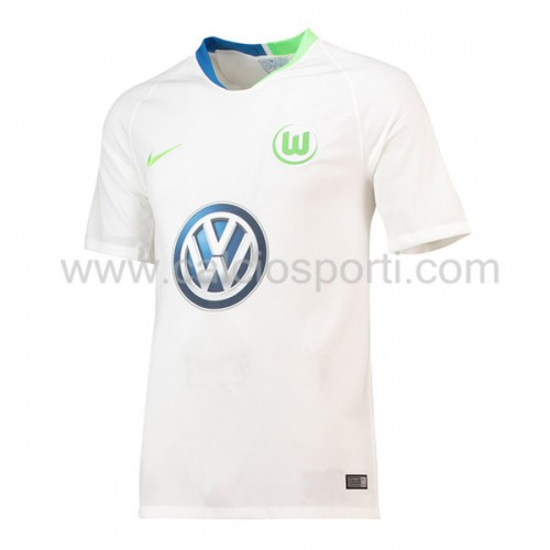 Wolfsburg 2018-19 Short Sleeve Away Soccer Jersey